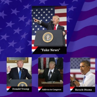 Political trading cards promo