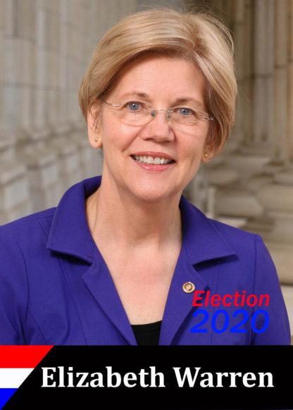Elizabeth Warren trading card