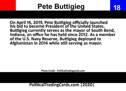 pete buttigieg card back