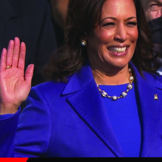 kamala harris takes the oath of office